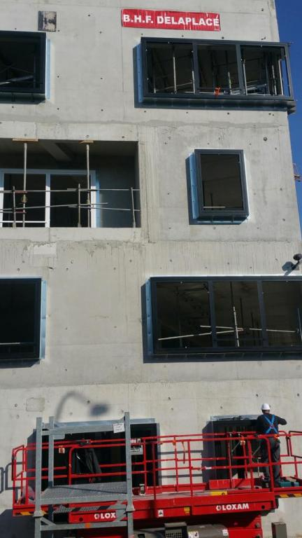 Construction d'un immeuble de bureaux