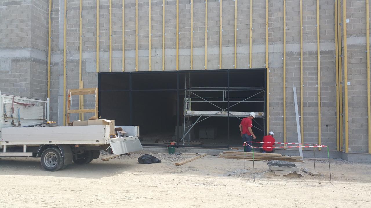 Construction d'un bâtiment commercial