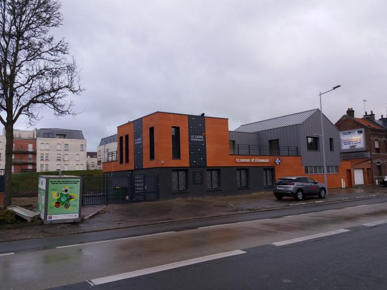 Construction d'une clinique vétérinaire