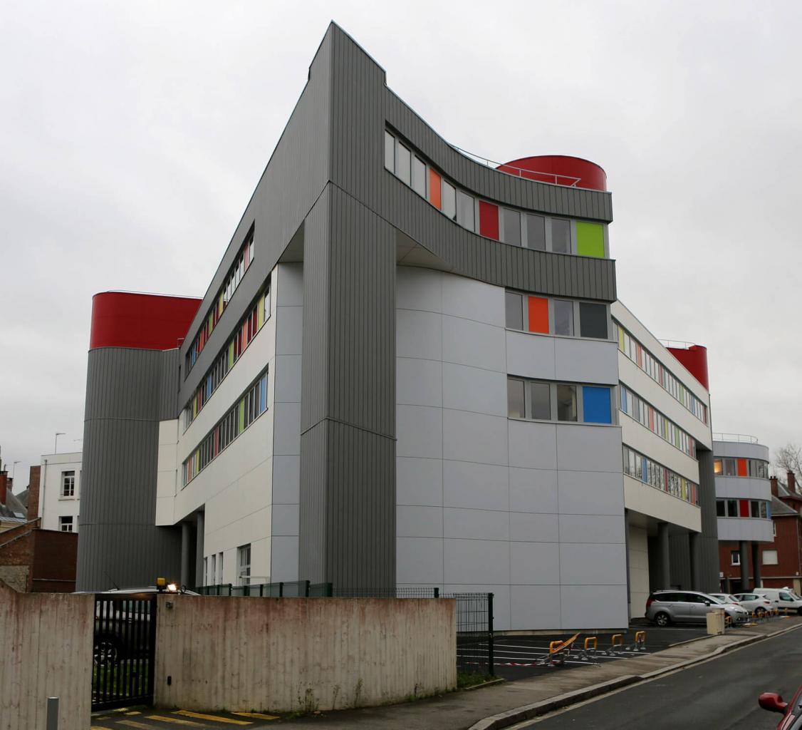 Réhabilitation de l'immeuble Germain Bleuet