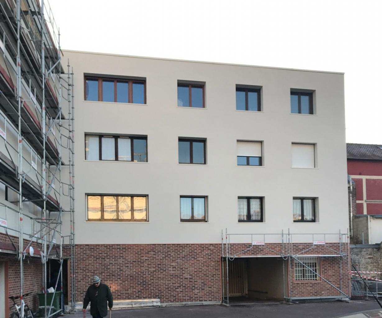 Les Platanes - Rénovation des façades - Amiens