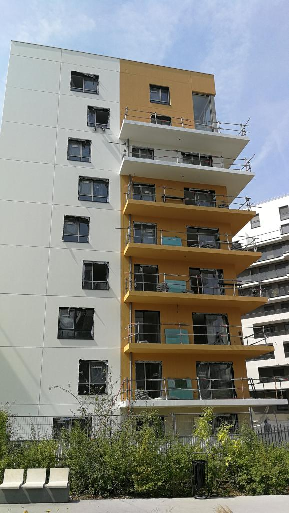 Construction de 171 logements