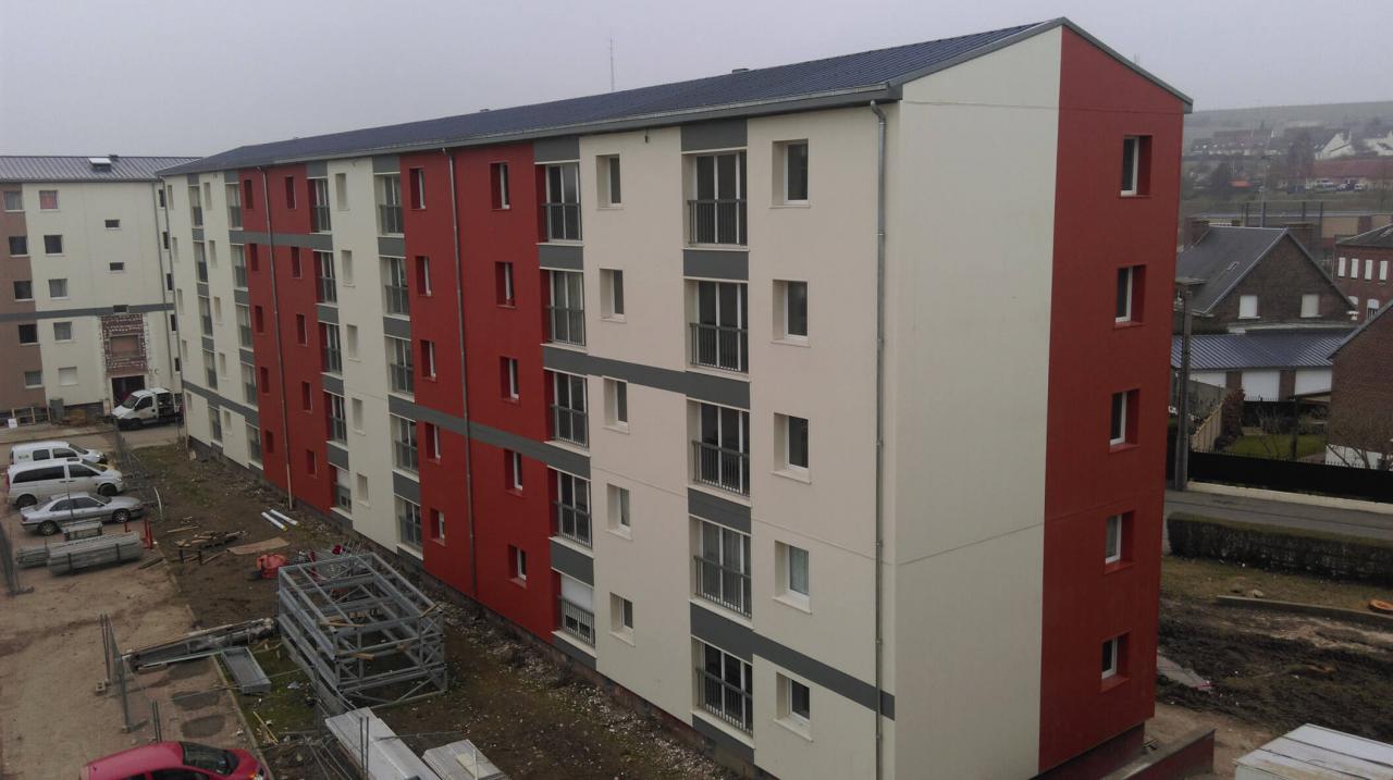 Réhabilitation de 120 logements