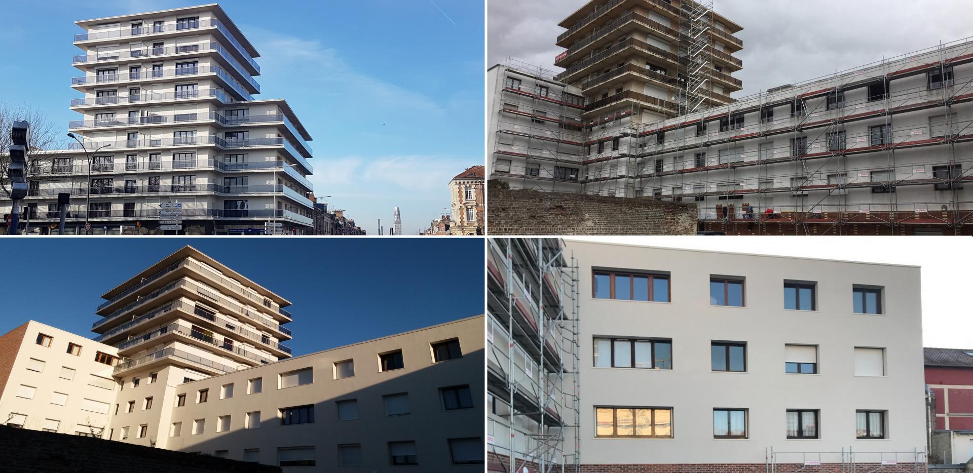 MASSET FRERES - Rénovation des façades